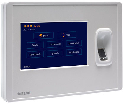 Deltabit Idis – time and attendance monitoring